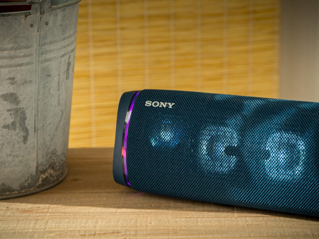 Der günstigste Bluetooth-Lautsprecher für den Garten: der Sony SRS XB43