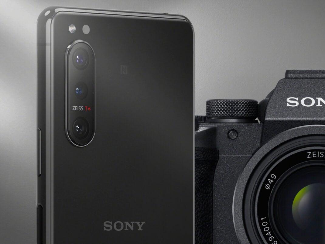 Sony Xperia 5 II mit Sony Alpha Kamera