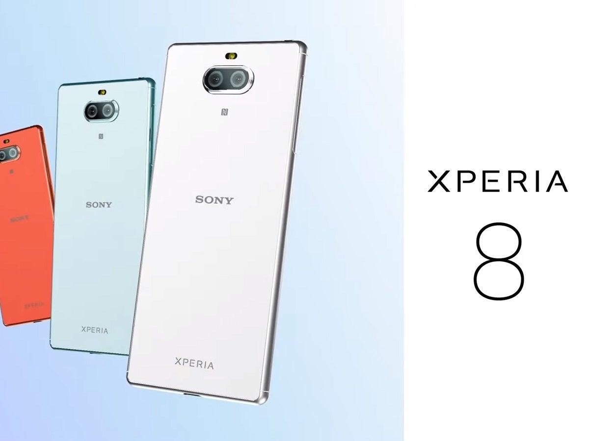 Sony Xperia 8 mit optimierter Zwei-Bildschirme-Funktion vorgestellt
