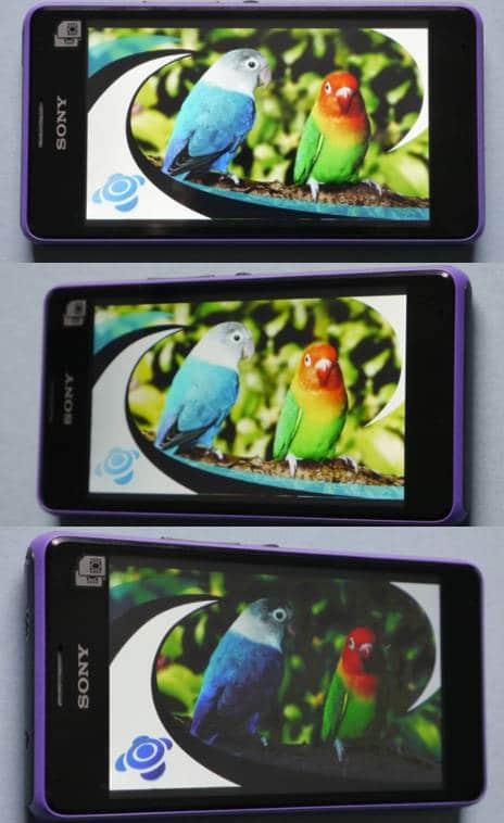 Sony Xperia E1: Display