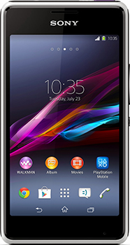 Sony Xperia E1 Dual Datenblatt - Foto des Sony Xperia E1 Dual