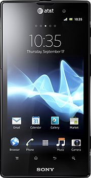 Sony Xperia ion Datenblatt - Foto des Sony Xperia ion