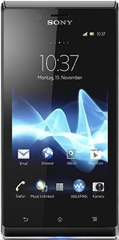 Sony Xperia J Datenblatt - Foto des Sony Xperia J