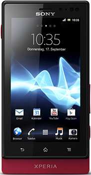 Sony Xperia sola Datenblatt - Foto des Sony Xperia sola
