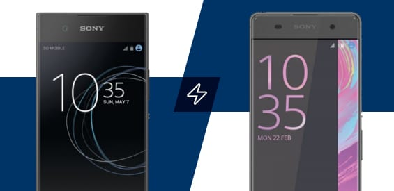 Sony Xperia XA und XA1 im Vergleich