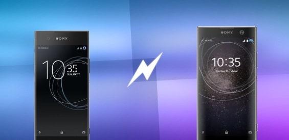 Sony Xperia XA1 und XA2 im Vergleich
