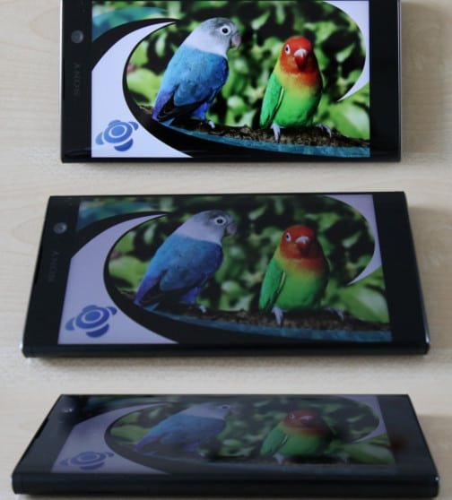 Sony Xperia XA2 Test Blickwinkel