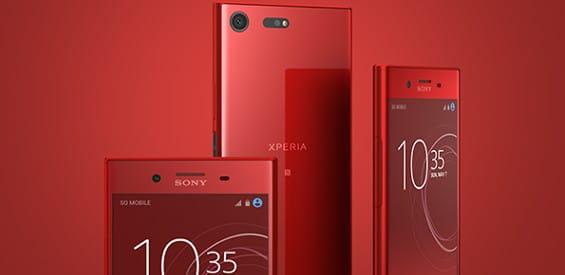 Sony Xperia XZ Premium Rosso Farbe