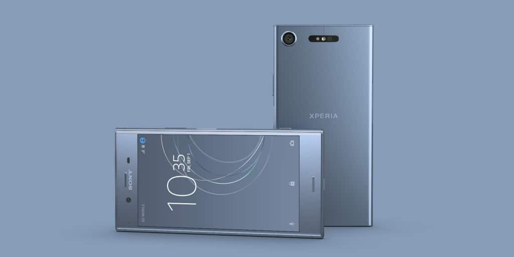 Sony Xperia Xz1 Compact Sonys Neue Flaggschiffe Im Hands On