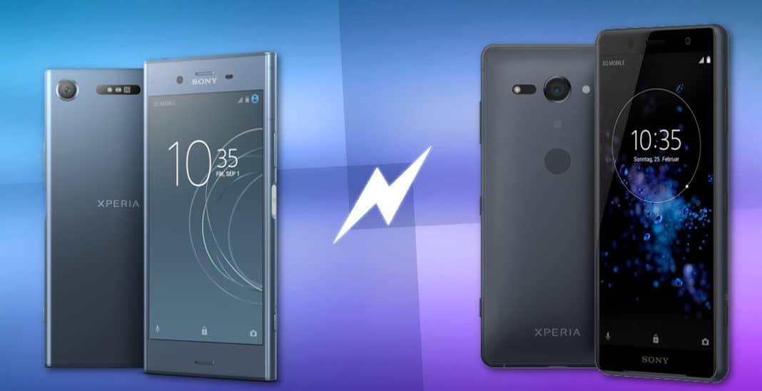 Sony Xperia XZ1 und Xperia XZ2 Vergleich Topnewsbild