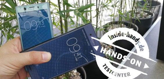 Sony Xperia XZ1 und XZ1 Compact im Hands-On