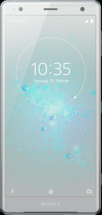 Sony Xperia XZ2 Liquid Silver