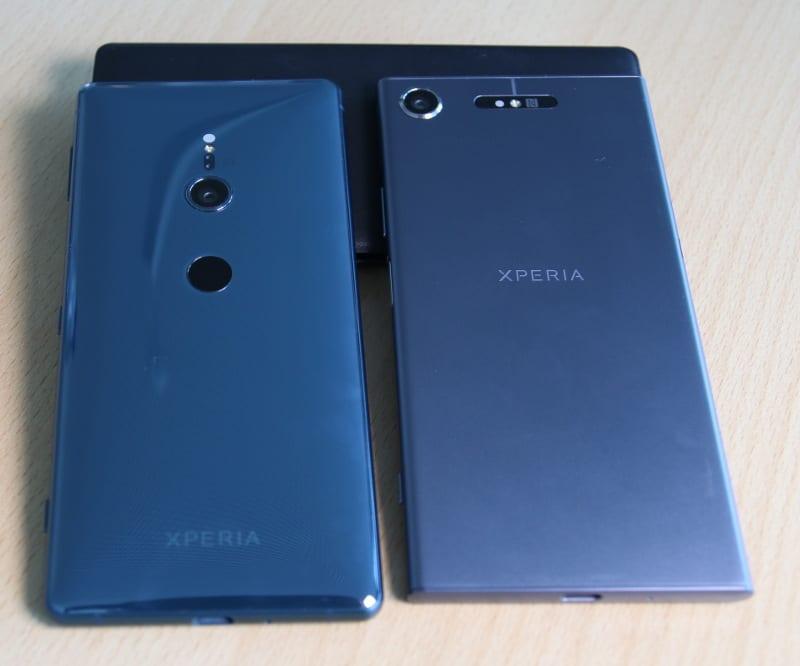 Sony Xperia XZ1 und XZ2 im Vergleich: Das sind die Unterschiede