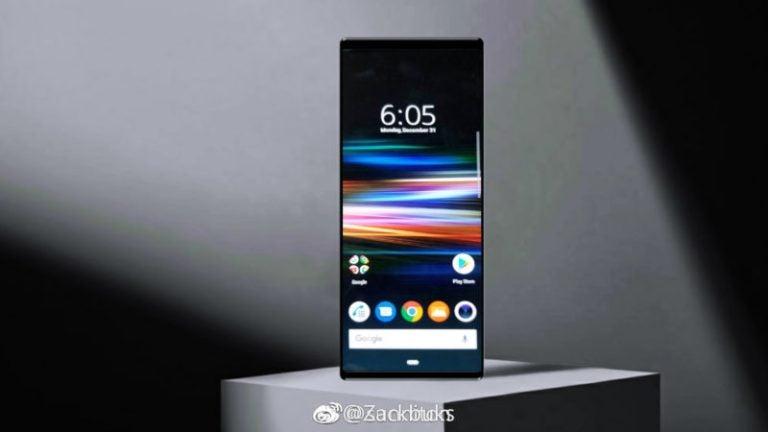 Ein vermeintliches Pressefoto zeigt das Sony Xperia XZ4 von der Vorderseite