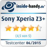 Sony Xperia Z3+ inside-digital.de-Testsiegel