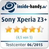 Sony Xperia Z3+ inside-handy.de-Testsiegel