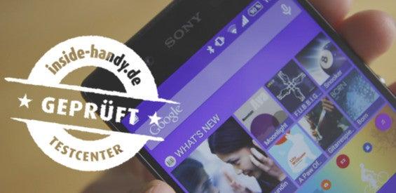 Sony Xperia Z3+ mit Testsiegel