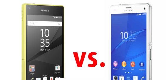 Sony Xperia Z5 Compact vs. Xperia Z3 Compact