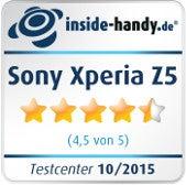 Sony Xperia Z5 Testsiegel