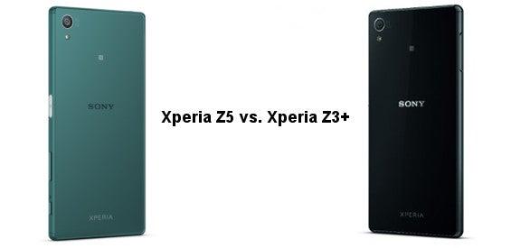 Sony Xperia Z5 vs. Xperia Z3+
