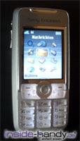 Sony-Ericsson K700i - beleuchtet