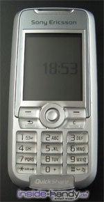 Sony-Ericsson K700i - Frontansicht