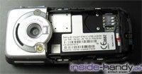 Sony-Ericsson K700i - ohne Akkudeckel