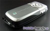 Sony-Ericsson K700i - unten offen