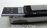 Sony-Ericsson K750i - Akku locker