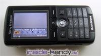 Sony-Ericsson K750i - Display Kameraklappe offen