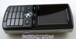Sony-Ericsson K750i - Draufsicht