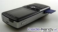 Sony-Ericsson K750i - Memory Stick drausen