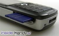 Sony-Ericsson K750i - Memory Stick