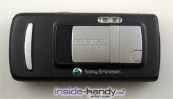 Sony-Ericsson K750i - Rückseite draufsicht