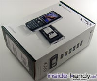 Sony-Ericsson K750i - Verpackung