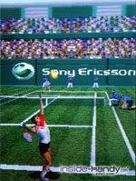 SonyEricsson S700i -  Display 3D Spiel Tennis