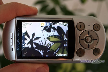 SonyEricsson S700i - Display Kamerasucher
