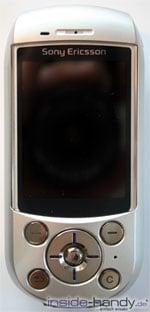 SonyEricsson S700i - Handy Frontalansicht