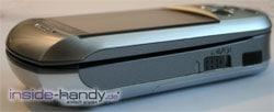 SonyEricsson S700i - obere Seitenansicht