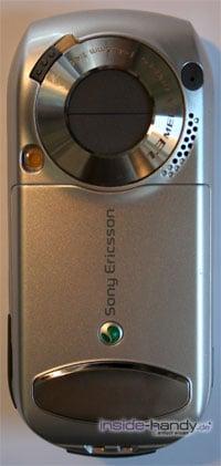 SonyEricsson S700i - Rückseite