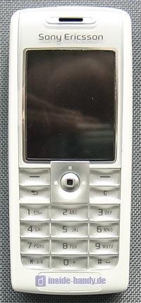 Sony-Ericsson T630 - Frontalansicht