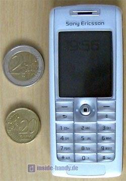 Sony-Ericsson T630 - Größenvergleich