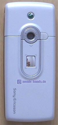 Sony-Ericsson T630 - Rückseite