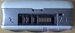 Sony-Ericsson T630 - Unterseite