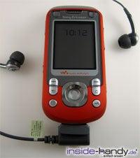 SonyEricsson W550i - mit Headset
