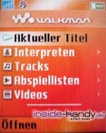 SonyEricsson W550i - Walkman