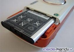 Sony-Ericsson W800i - Akku