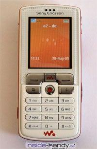 Sony-Ericsson W800i - Display