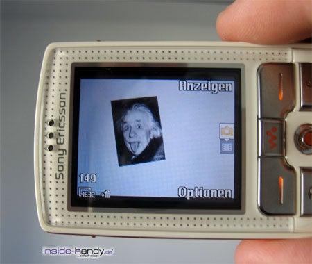 Sony-Ericsson W800i - Foto machen