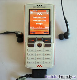 Sony-Ericsson W800i - Headset